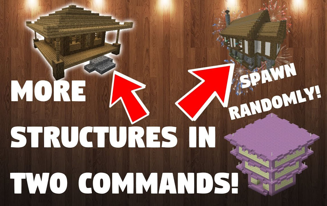 More Structures Command Block