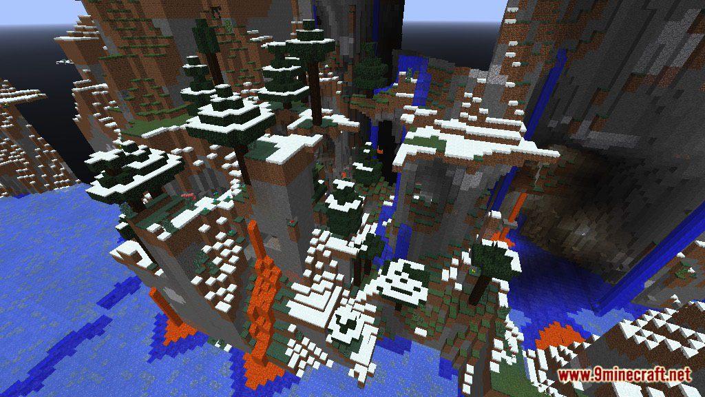 Mountain Parkour Map Screenshots 12