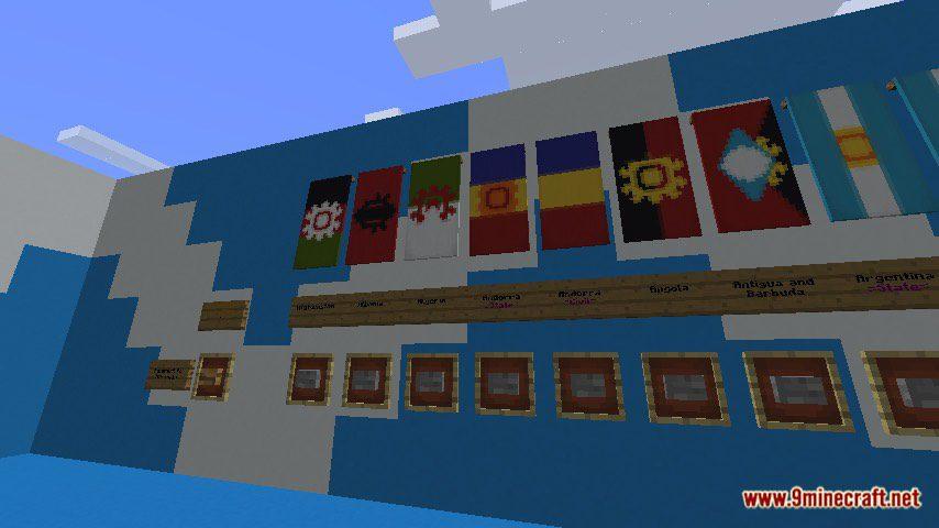 National Flags Map Screenshots 1