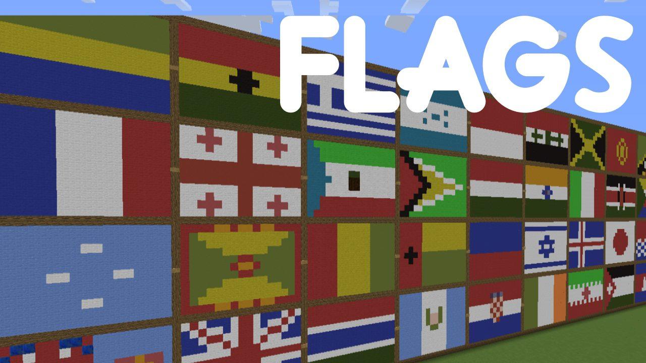 National Flags Map Thumbnail