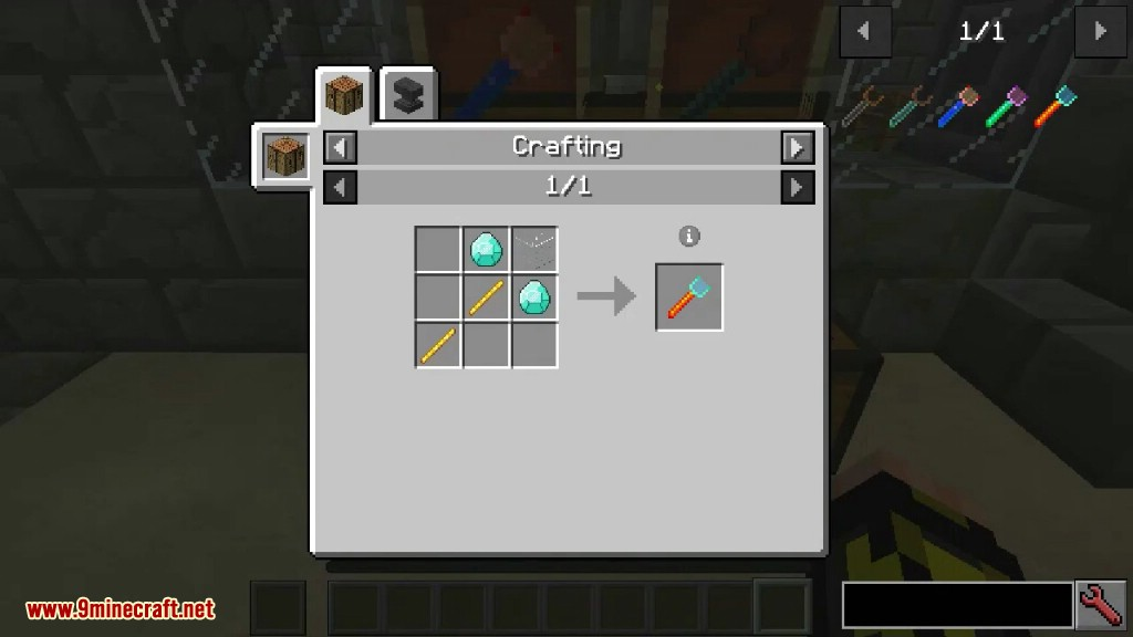 Ore Prospectors Mod Crafting Recipes 7