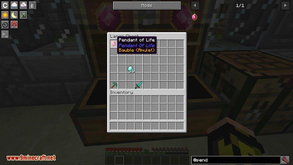Pendant of Life Mod Screenshots 1