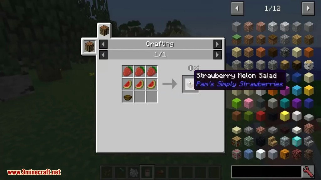 Simply Strawberries Mod Crafting Recipes 2