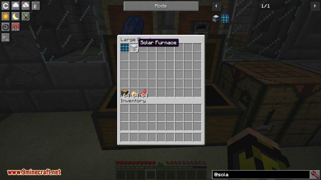 SolarFurnace Mod Screenshots 3