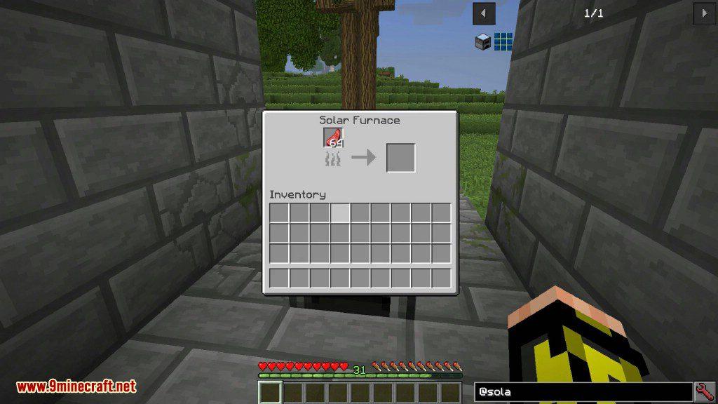 SolarFurnace Mod Screenshots 6