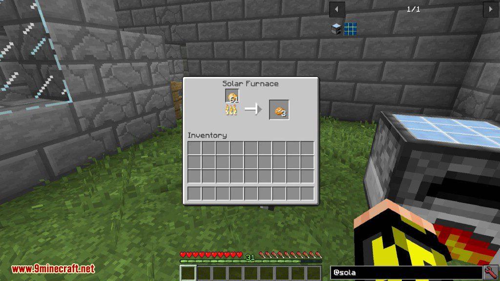 SolarFurnace Mod Screenshots 8