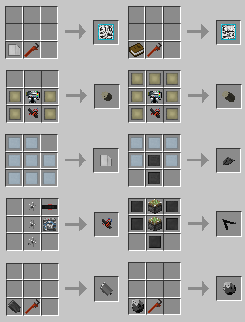 SpaceX Mod Crafting Recipes 2