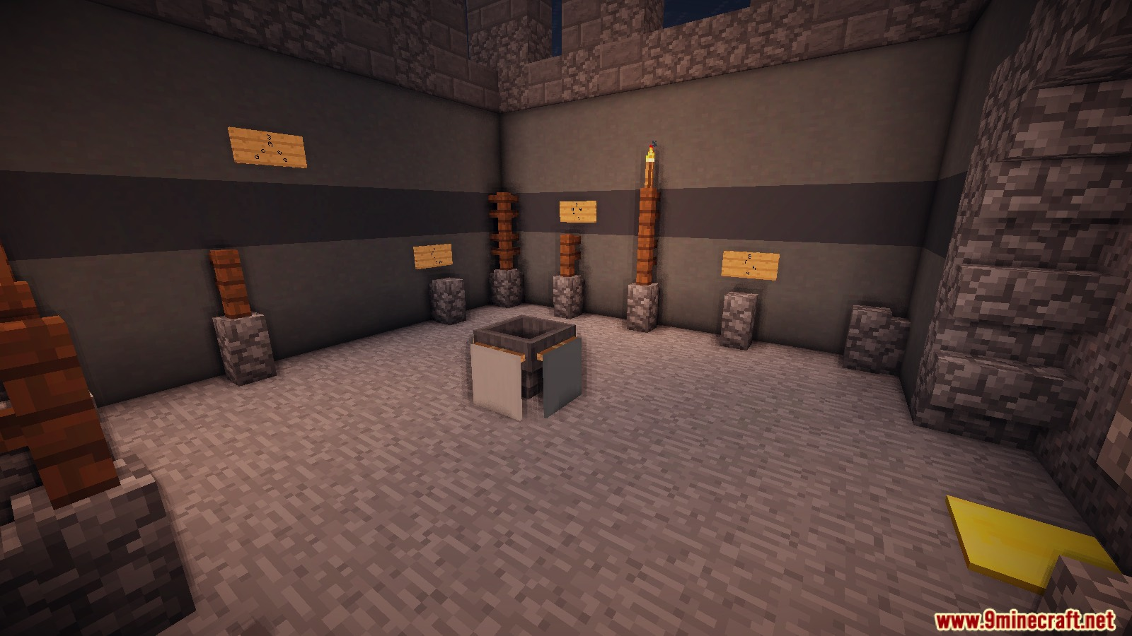 30 seconds escape room map for minecraft for Escape room equipment