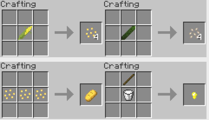 Complex Crops Mod Crafting Recipes 1