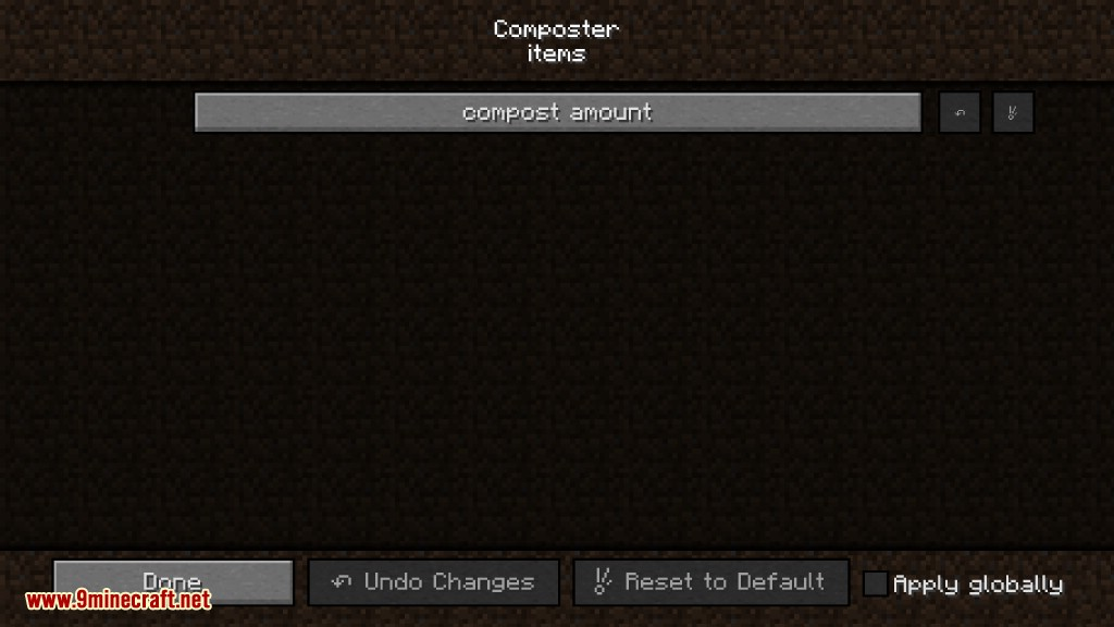 Composter Mod Configs 2