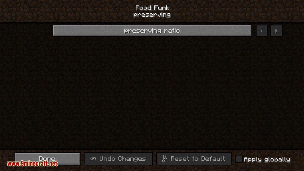 Food Funk Mod Configs 2