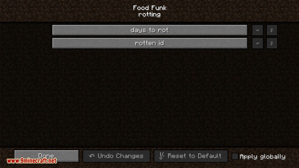Food Funk Mod Configs 4
