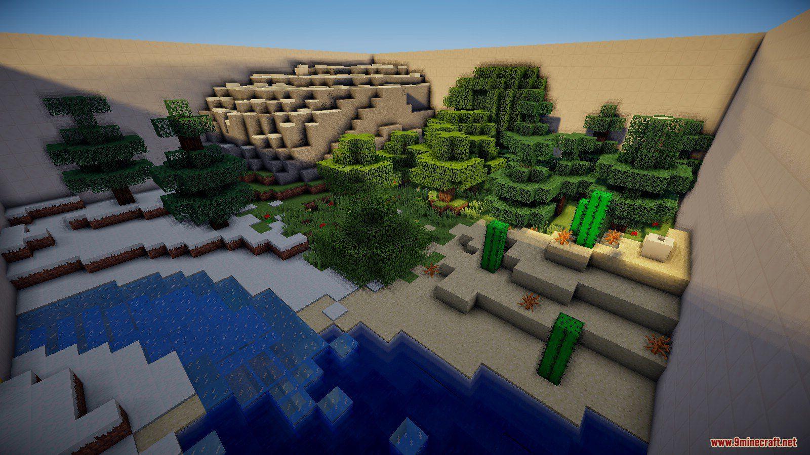 Golden Biomes Extreme Map Screenshots (6)