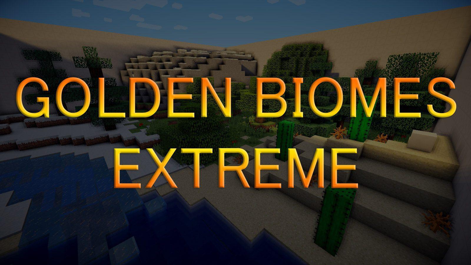 Golden Biomes Extreme Map Thumbnail