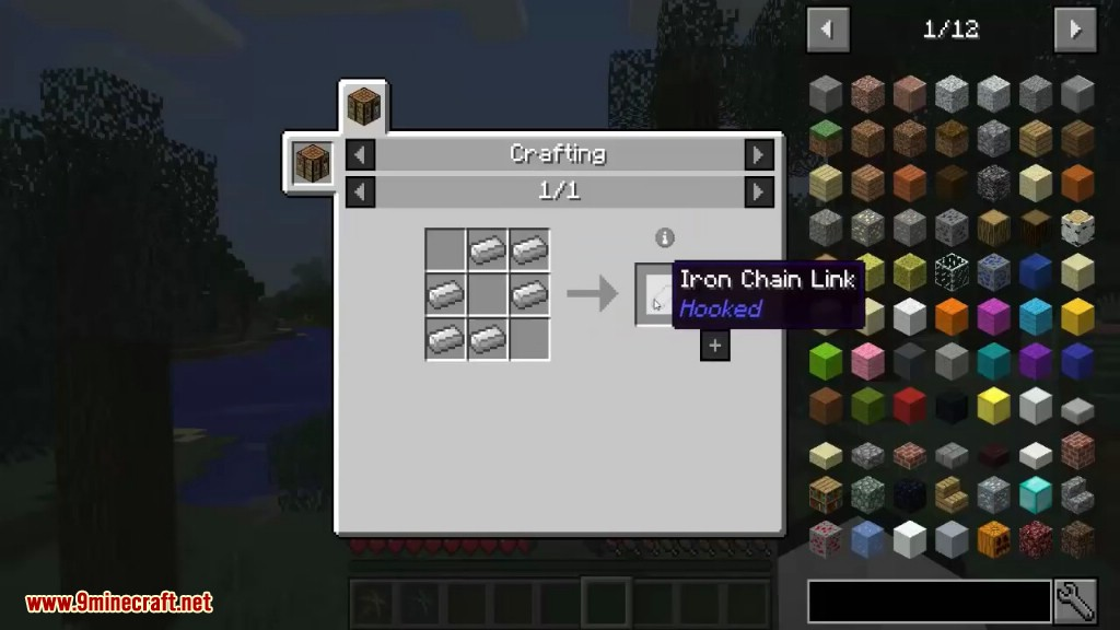 Hooked Mod Crafting Recipes 4