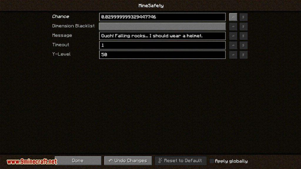 MineSafety Mod Screenshots 7