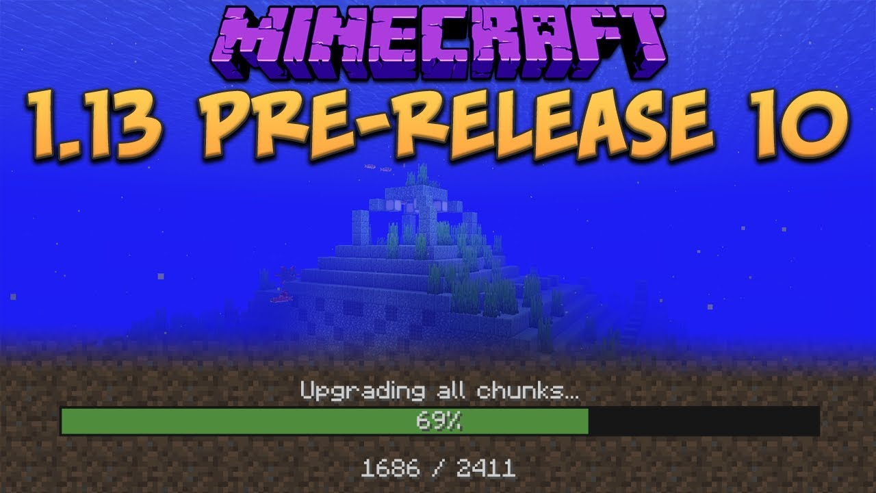 Minecraft 1.13 Pre-Release 10