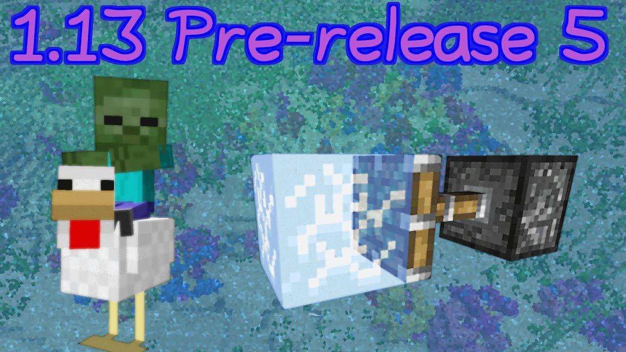 Minecraft 1.13 Pre-Release 5