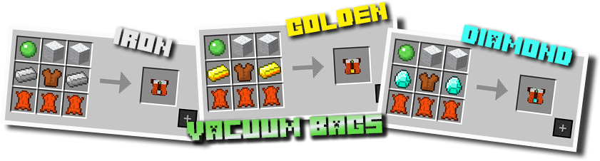 Pollution of the Realms Mod Crafting Recipes 2