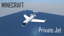 Private Jet Map Thumbnail