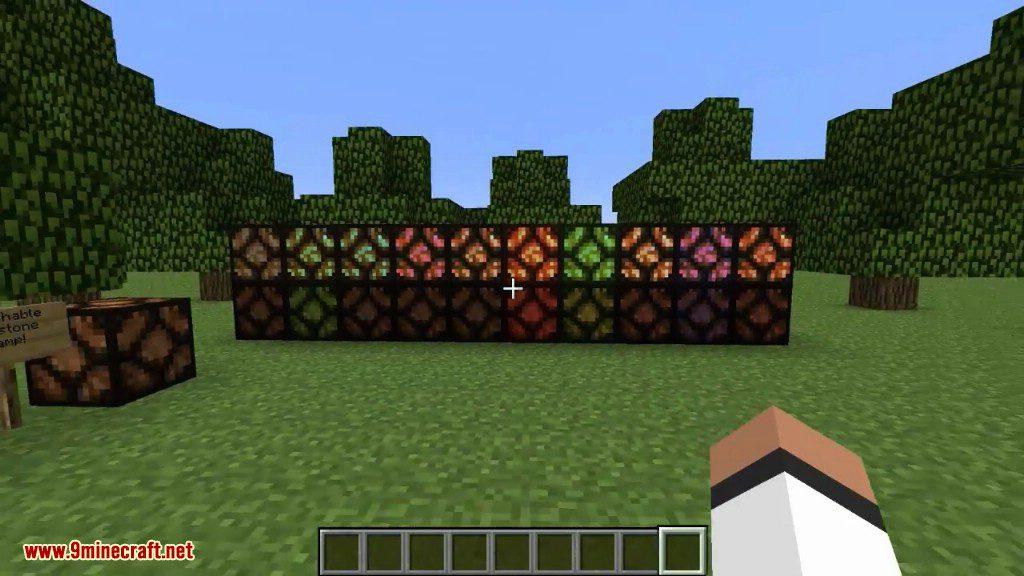 Redstone Lamps Plus Mod Screenshots 1