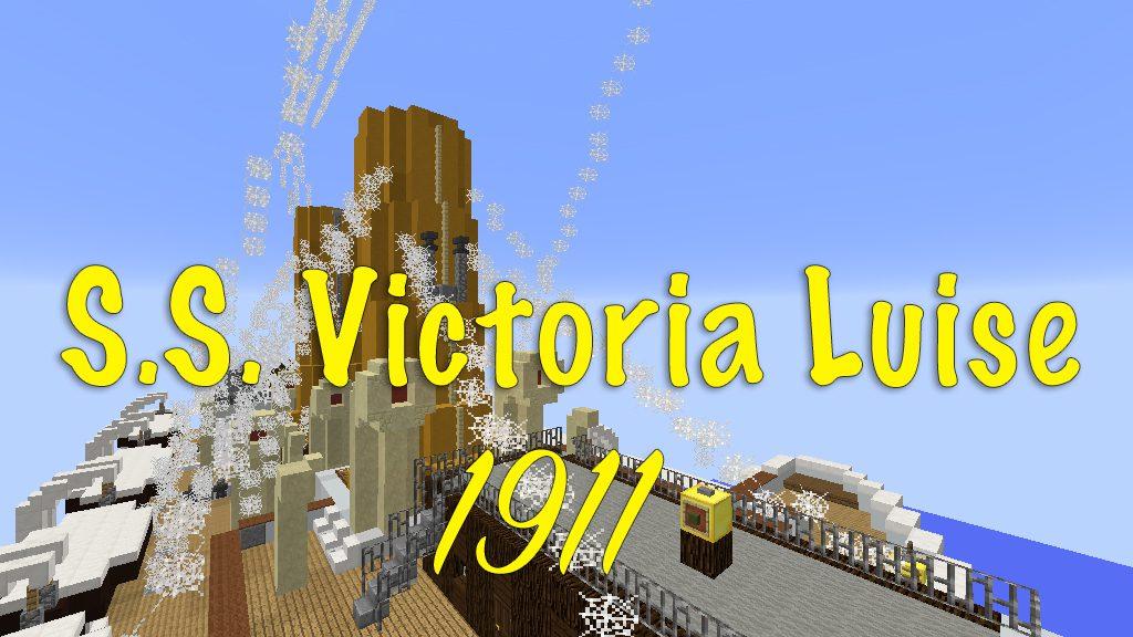 S.S. Victoria Luise 1911 Map Thumbnai