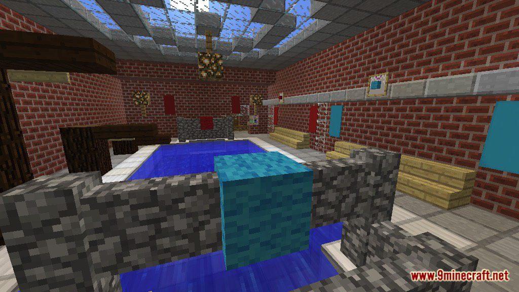 Minecraft Changing Room