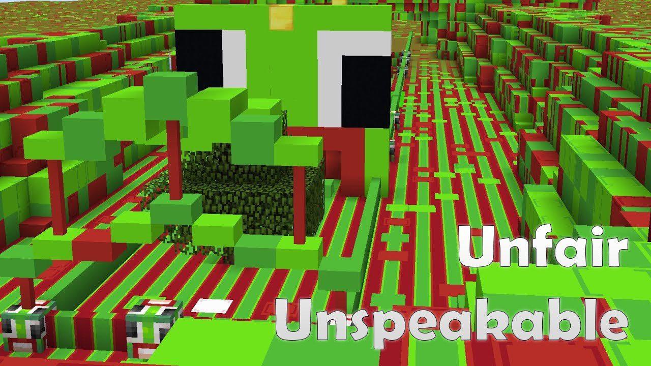 Unfair Unspeakable Map 1111.111111.1111/1111.111111 for Minecraft - 11Minecraft.Net