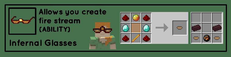 Useful Glasses Mod Crafting Recipes 3
