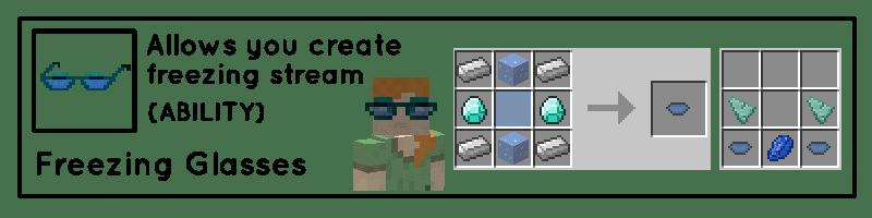 Useful Glasses Mod Crafting Recipes 5