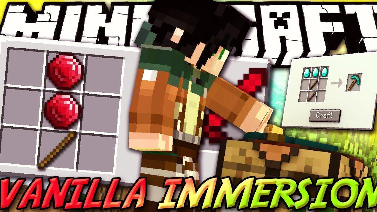 Vanilla Immersion Mod