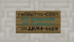 25 Diamonds of Parkour Map Thumbnail
