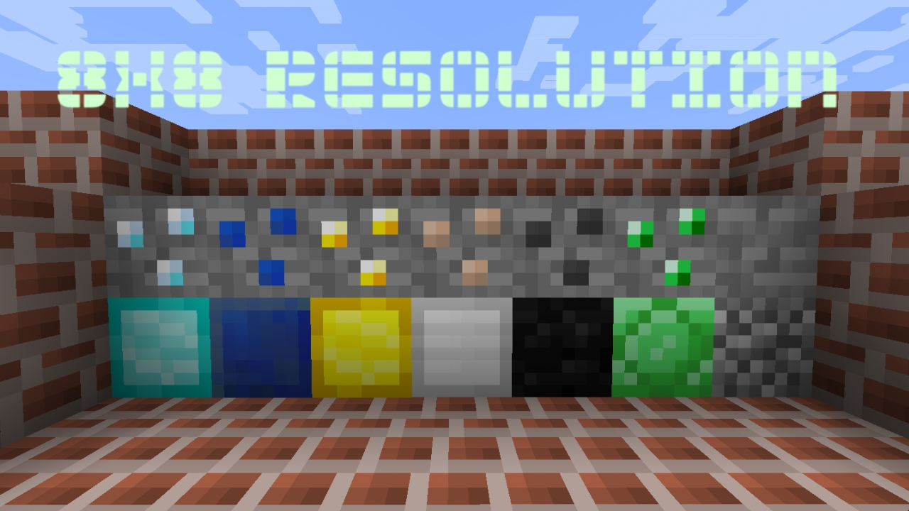 8×8 REsource Pack