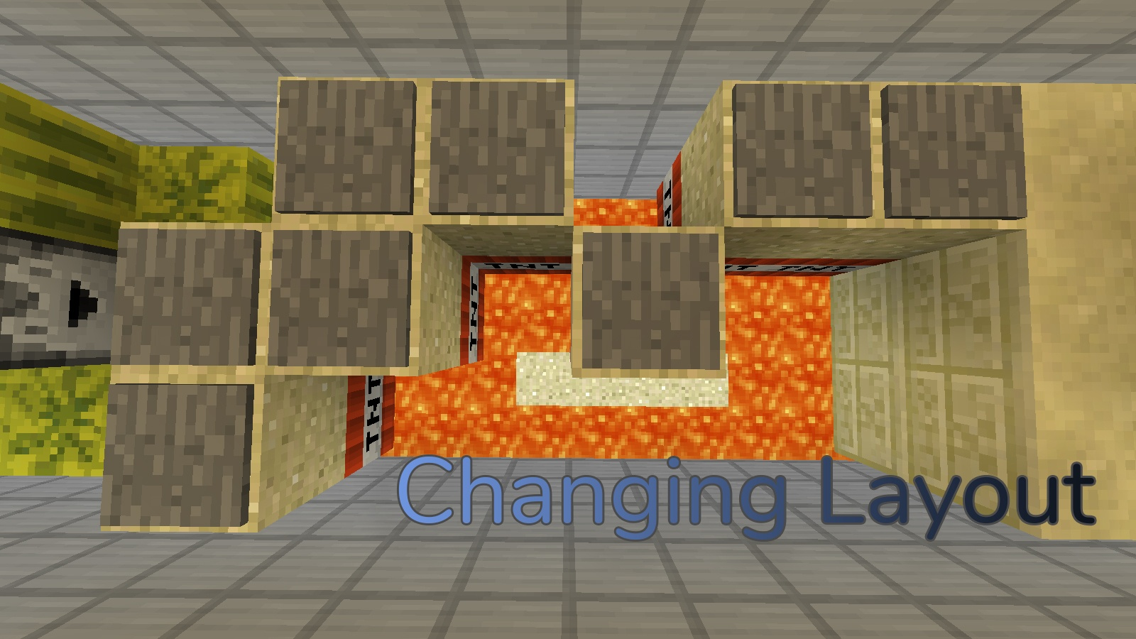 Changing Layout Map 1.13.2 for Minecraft