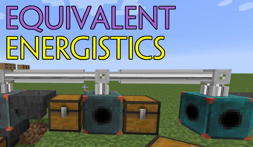 Equivalent Energistics Mod 1.12.2/1.10.2 (Autocrafting with EMC)