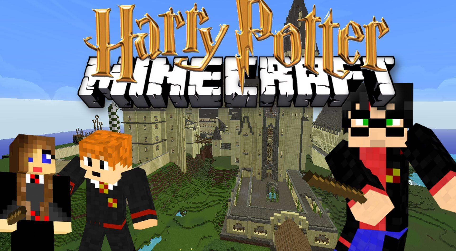 Harry Potter Adventure Map 1.12.2/1.12 for Minecraft - 9Minecraft.Net