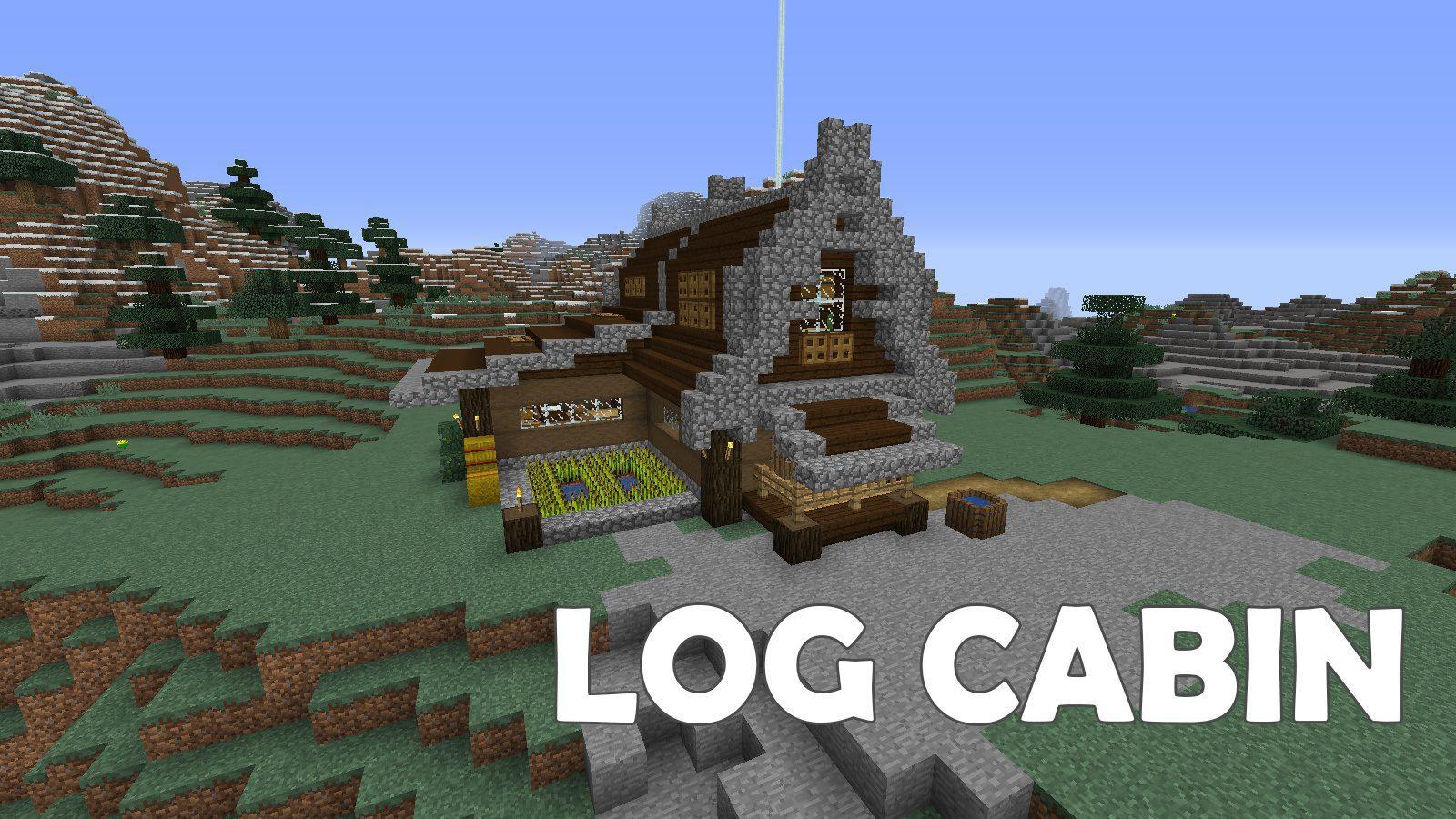 Log Cabin Map 1 13 2 For Minecraft 9minecraft Net