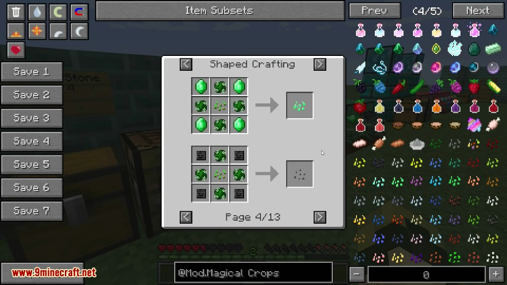 Magical Crops Mod Crafting Recipes 18