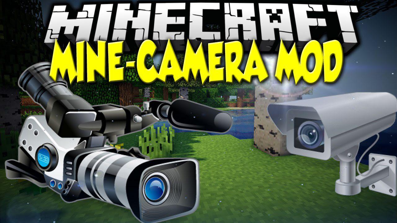 Mine Camera Mod 1.12.2/1.10.2 (Decorate with Picture ...