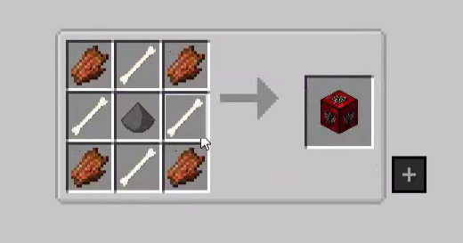 Monsters Lucky Block Mod Crafting Recipes 1