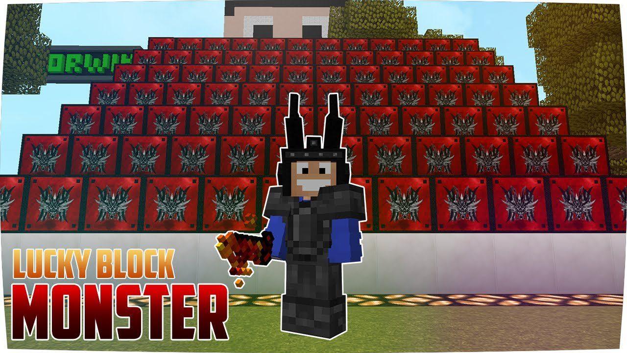 Monsters Lucky Block Mod