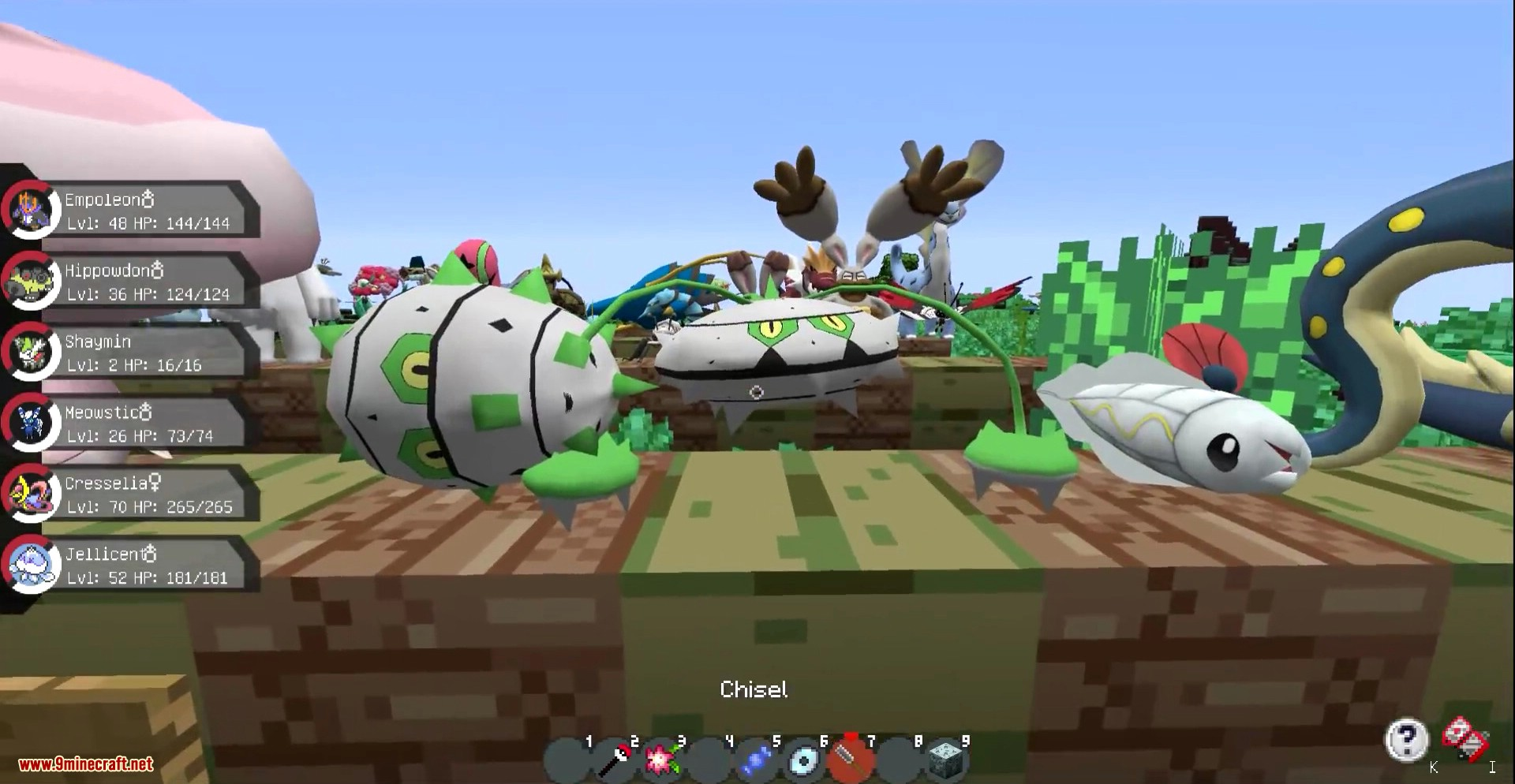 Pixelmon Mod Screenshots New 20