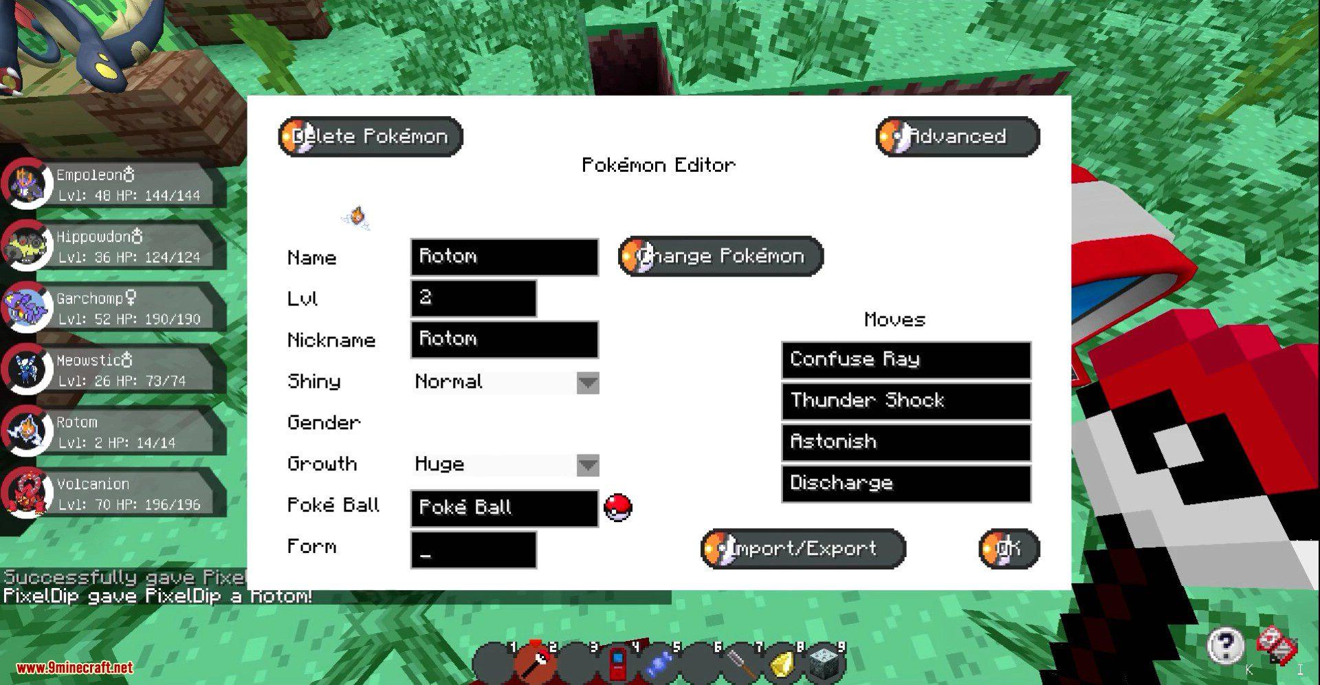 Pixelmon Mod Screenshots New 7