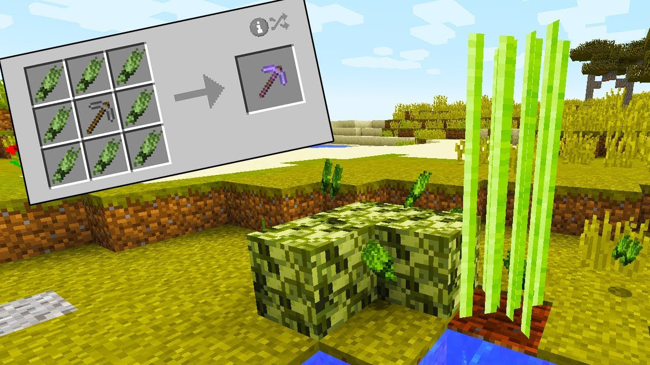 Plant Fiber Mod