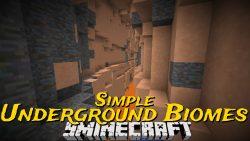 Simple Underground Biomes Mod