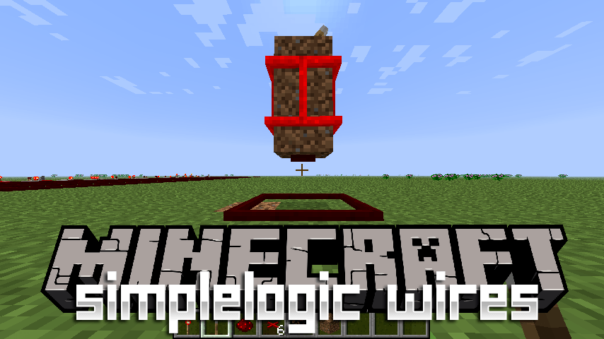 SimpleLogic Wires mod for minecraft logo