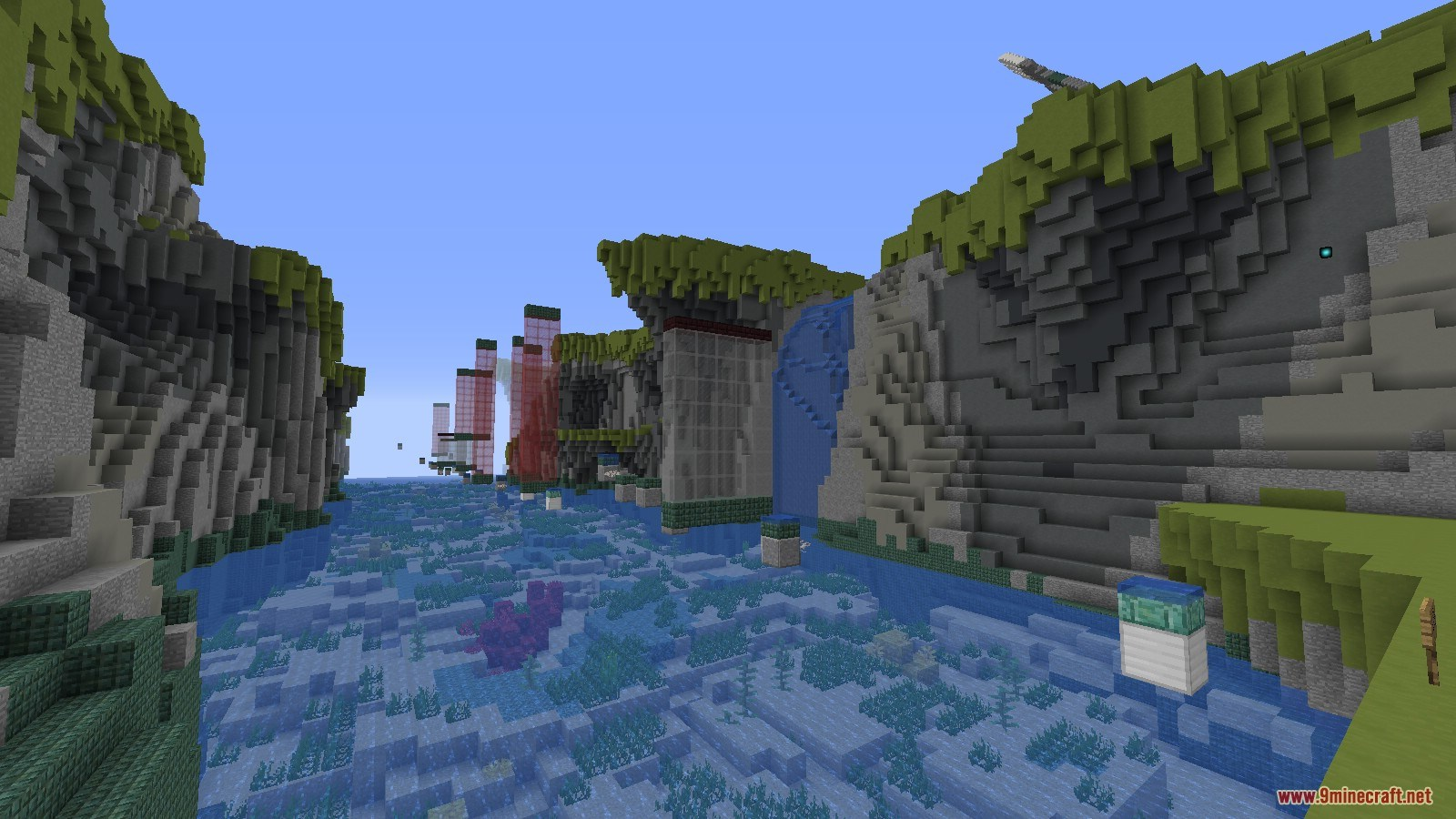 Trident Master Map 1 13 for Minecraft - 9Minecraft Net