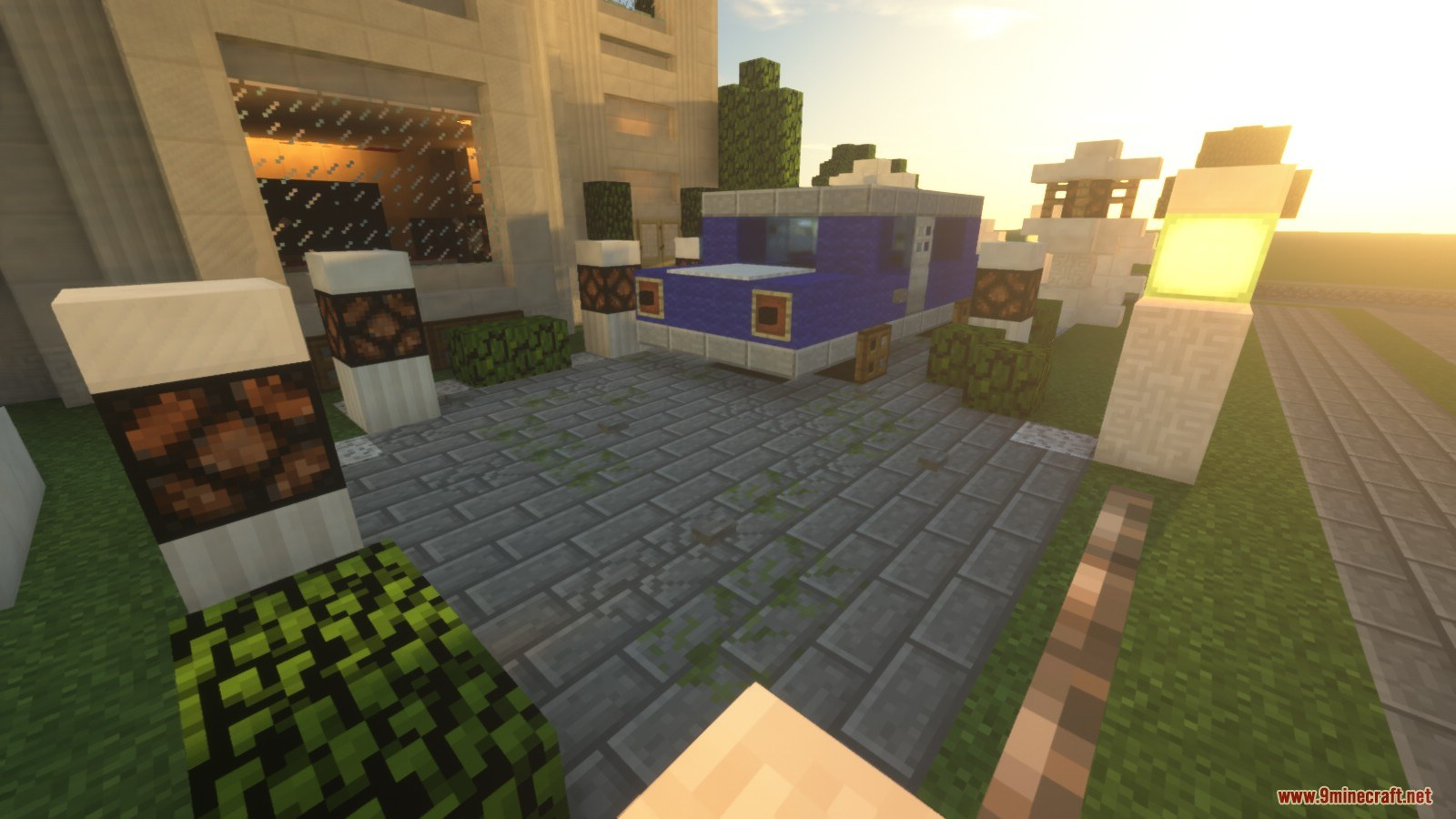 Villa One Map 1122112 For Minecraft 9minecraftnet