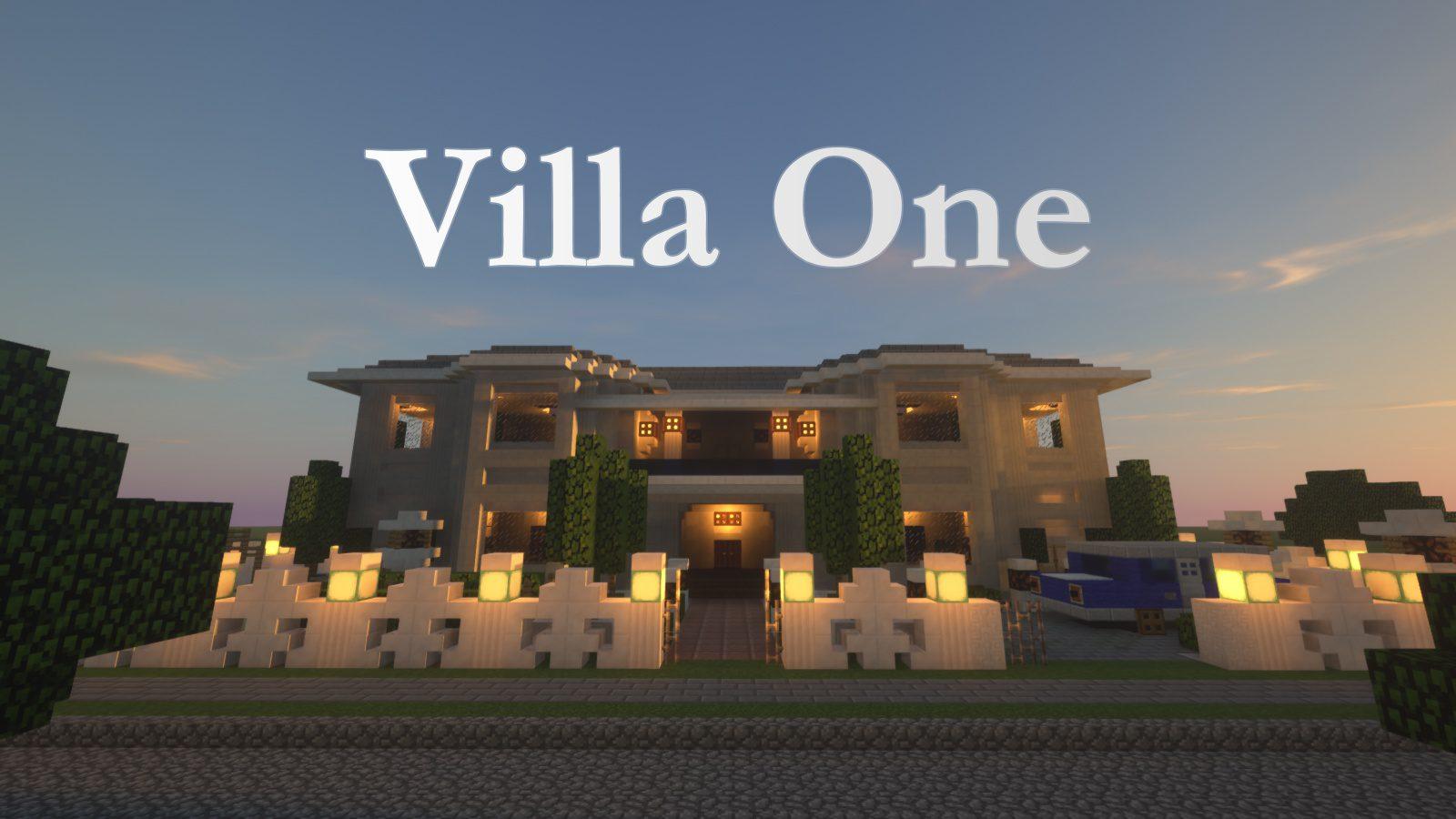 Villa One Map 1111.111111.1111/1111.111111 for Minecraft - 11Minecraft.Net