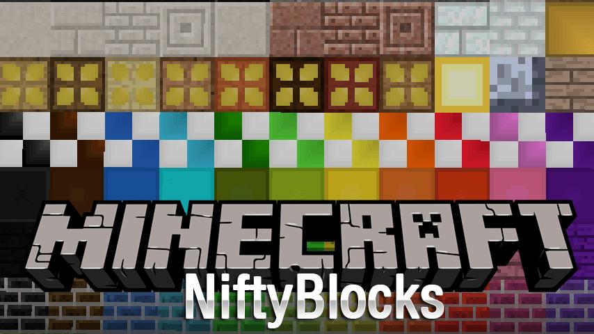 niftyblocks mod for minecraft logo
